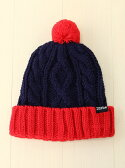 X-girl Stages CABLE KNIT CAP エックスガールステージス【送料無料】