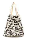 X-girl Stages W-TOTE LARGE STAR&LOGO エックスガールステージス【送料無料】