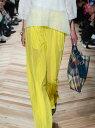 【SALE/50%OFF】beautiful people cozumolama silkygather pants ビューティフル ピープル パンツ/ジーンズ ワイド/バギーパンツ イエロー ブラウン ネイビー【送料無料】