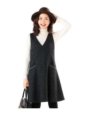 any SiS ウインターフレア ジャンパースカート エニィスィス【送料無料】
