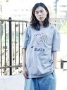 【SALE/20%OFF】hardcover hardcover/JOKER バッグインザデイ カットソー Tシャツ グレー ブラック カーキ ホワイト【送料無料】
