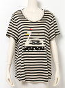 【送料無料】franche lippee L-size スワンボートフレアTシャツ フランシュリッペ
