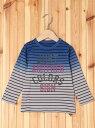 【SALE/60%OFF】SLAP SLIP グラデボーダーTシャツ ベベ オンライン ストア カットソー【RBA_S】【RBA_E】