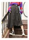 【SALE/45%OFF】jouetie レイヤードプリーツスカート ジュエティ スカート プリーツスカート/ギャザースカート ブラック パープル【送料無料】