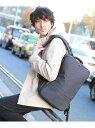 TAKEO KIKUCHI 多機能3WAYリュック タケオキクチ バッグ リュック/バックパック グレー ブラック【送料無料】