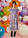 【SALE/50%OFF】MIIA フラワー刺繍フレアスカート ミーア スカート【RBA_S】【RBA_E】【送料無料】