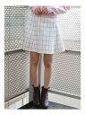 【SALE/84%OFF】dazzlin バックルフレアミニスカート ダズリン スカート フレアスカート ホワイト ブラック ピンク ベージュ