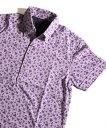 【SALE/50%OFF】MEN'S BIGI バーズアイ鹿の子 フラワープリントポロシャツ メンズ ビギ カットソー【RBA_S】【RBA_E】【送料無料】