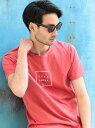 【SALE/50%OFF】RATTLE TRAP Lilly&Emma別注プリントTシャツ メンズ ビギ カットソー Tシャツ ピンク ホワイト ネイビー グレー グリーン ブラック