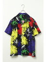 【SALE/26%OFF】VENCE share style MENs ボタニカルオープンカラーシャツ ヴァンス エクスチェンジ シャツ/ブラウス【RBA_S】【RBA_E】