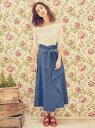 【SALE/50%OFF】MIIA ラッフルロングスカート ...