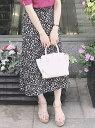 MISCH MASCH 小花柄Aラインナロースカート ミッシュ マッシュ スカート【送料無料】