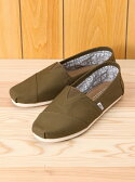 TOMS M CLSC Military Olive Canvas トムス【送料無料】