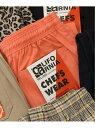 JOURNAL STANDARD relume CALIFORNIA CHEF PANTS ジャーナル スタンダード レリューム パンツ/ジーンズ フルレングス オレンジ ブラッ..
