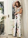 【SALE/37%OFF】Million Carats spring flowerパンツ[DRESS/ドレス] ミリオンカラッツ アウトレット パンツ/ジーンズ ワイド/バギーパンツ ホワイト グレー【送料無料】