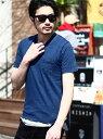 【SALE/50%OFF】RATTLE TRAP コラボレーションVネックポケットTシャツ<別注セレクト> メンズ ビギ カットソー Tシャツ ブルー ホワイト ネイビー グレー ピンク