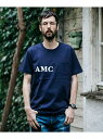 【SALE/40%OFF】7oz HEAVEY WEIGHT AMERICAN COTTON / AMC FELT LOGO POCKET T-SHIRT ミスターオリーブ カットソー【RBA_S】【RBA_E】【送料無料】