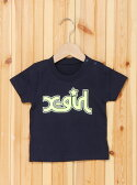 【SALE/40%OFF】X-girl Stages S/S TEE NEON COLOR LOGO & BAG エックスガールステージス カットソー【RBA_S】【RBA_E】【送料無料】