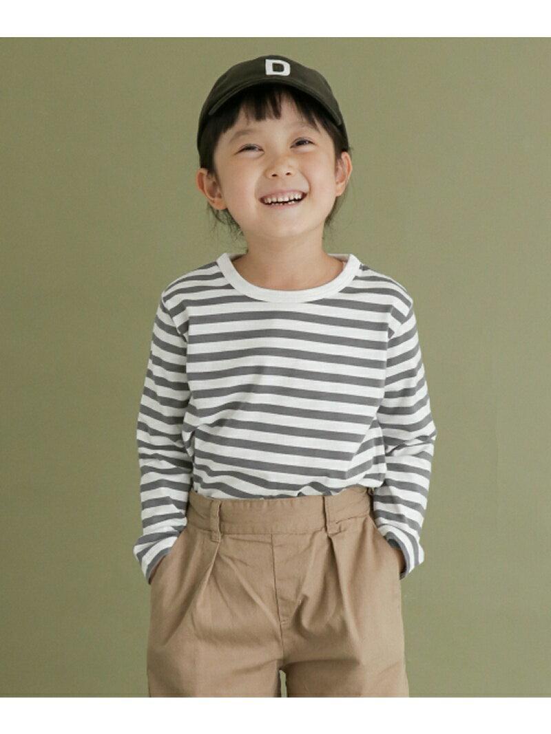 DOORS FORK&SPOON ボーダーロングスリーブTシャツ(KIDS) アーバンリサーチドアーズ カットソー