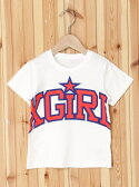 【SALE/40%OFF】X-girl Stages S/S TEE ARCH LOGO エックスガールステージス カットソー【RBA_S】【RBA_E】【送料無料】