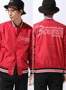 BOUNTY HUNTER BxH Nylon Varsity Jacket バウンティーハンター【送料無料】