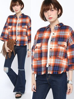 WEGO (L) 條紋短 t 恤 (5) 維哥襯衫 / 襯衫