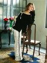 【SALE/60%OFF】Honey mi Honey line lace pants ハニーミーハニー パンツ/ジーンズ フルレングス ホワイト ブラック ブラウン【送料無料】