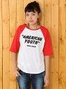 RODEO CROWNS AMERICAN YOUTH 7分袖 Tシャツ ロデオクラウンズワイドボウル【送料無料】
