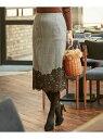 【SALE/30%OFF】ICB Lace Pattern Combo スカート アイシービー スカート【RBA_S】【RBA_E】【送料無料】