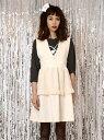 【SALE/30%OFF】Katie MAD HONEY apron one-piece ケイティ ワンピース【RBA_S】【RBA_E】【送料無料】