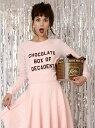 【SALE/20%OFF】Katie CHOCOLATE LOVE crew neck ケイティ カットソー【RBA_S】【RBA_E】【送料無料】