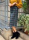【SALE/55%OFF】フロント釦チェックタイトスカート スピーガ スカート【RBA_S】【RBA_E】