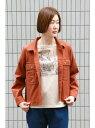【SALE/51%OFF】LBC with Life Wポケットシャツジャケット エルビーシー コート/ジャケット コート/ジャケットその他 ブラウン グリーン ベージュ