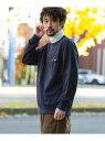 【SALE/40%OFF】Sonny Label 布帛ポケットセーターフリースプルオーバー サニーレーベル カットソー Tシャツ ネイビー グレー ブラウン【送料無料】