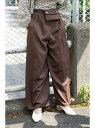 【SALE/70%OFF】FREE'S MART ウエストポーチ付きワイドパンツ フリーズ マート パンツ/ジーンズ パンツその他 ベージュ ブラウン