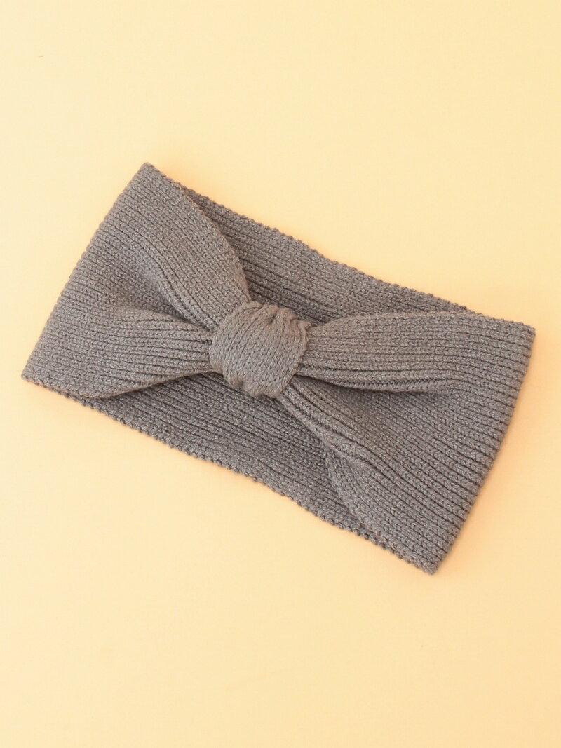 snidel レディース 帽子/ヘア小物 スナイデル snidel 【ar 3月号掲載】ニットヘアバンド スナイデル