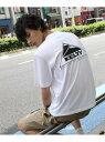 【SALE/20%OFF】THE SHOP TK KELTY/ケルティー別注バックプリントTシャツ ザ ショップ ティーケー カットソー Tシャツ ホワイト ブラック グリーン