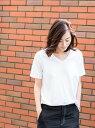 BEAUTY & YOUTH UNITED ARROWS BY TRADITIONAL バイオVネックTシャツ ◇ ビューティ&ユース ユナイテッドアローズ【送料無料】