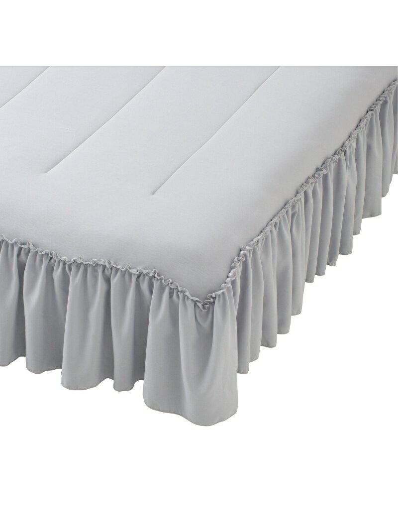 Francfranc ふわろ ベッドパッド フリル