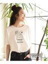 【SALE/70%OFF】studio CLIP CスラブPEANUTST スタディオクリップ カットソー Tシャツ ホワイト グレー