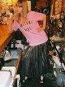 【SALE/30%OFF】Honey mi Honey AWESOME GIRL T-shirt ハニーミーハニー カットソー【RBA_S】【RBA_E】【送料無料】