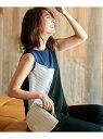 【SALE/50%OFF】ICB L TriacetateDrySmoothAラインカットソー アイシービー カットソー Tシャツ ブラック ベージュ イエロー【送料無料】