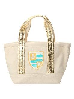 Lil'limo 손 염색 마린 가방