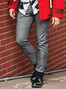 【SALE/20%OFF】UNION STATION ホームスパンストレッチジョガーパンツ[WARM EASY PANTS] メンズ ビギ パンツ/ジーンズ フルレングス グレー ブルー【送料無料】