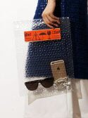 【SALE/10%OFF】MATATABI *Puchi Puchi Clucth Bag トーキング アバウト ジ アブストラクション バッグ【RBA_S】【RBA_E】【送料無料】