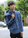 ESSENTIAL GARMENT MEN'S BIGI 【2016-17 A/W新作】起毛 BDチェックシャツ/raised fabric メンズ ビギ【送料...