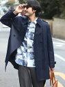 UNION STATION ユーティリティトレンチコート メンズ ビギ コート/ジャケット【送料無料】
