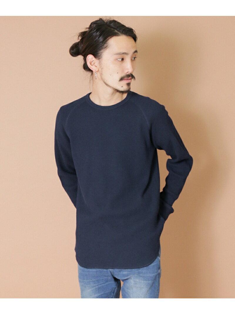 URBAN RESEARCH クルーネック度詰めワッフルビックロングTシャツ アーバンリサ…...:stylifemen:10128068