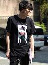【SALE/60%OFF】JUSTIN BIEBER ジャスティンビーバー×RATTLE TRAP フォトTシャツ メンズ ビギ カットソー【RBA_S】【RBA_E】