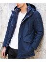 【SALE/50 OFF】MICHEL KLEIN HOMME ダウンコートブルゾン(ブリザテック) ミッシェルクランオム コート/ジャケット【RBA_S】【RBA_E】【送料無料】